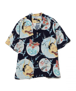SUN SURF / Demon On Japan Beauty Aloha Shirt