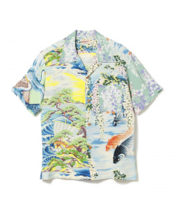 SUN SURF × BEAMS JAPAN / 別注 JAPAN ALOHA SHIRT