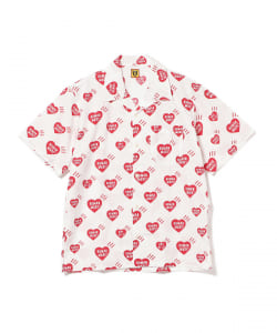HUMAN MADE / HEARTS PATTERN ALOHA SHIRT