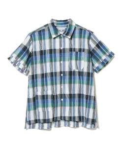 ENGINEERED GARMENTS / CAMP SHIRT CREPE CHECK