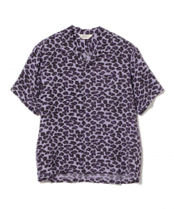 "STAR OF HOLLYWOOD / High Density Rayon Open Shirt ""LEOPARD"""