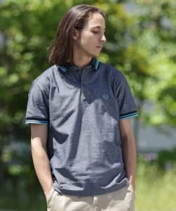 FRED PERRY × BEAMS / 別注 ダブルカラー ポロシャツ18SS