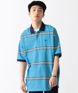 FRED PERRY × BEAMS / 男裝 短袖 條紋 POLO襯衫