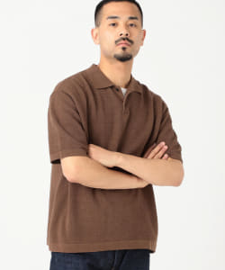 【アウトレット】BATONER / SWEDISH PIQUE SHORT SLEEVE POLO