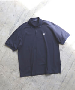 FRED PERRY × BEAMS / 別注 オーバーサイズ ポロシャツ