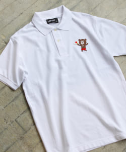 The Wonderful! design works. / FLAG BEAR POLO