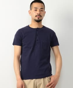 REMI RELIEF × BEAMS PLUS / 特別發注 亨利領T-SHIRT