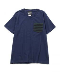 【SPECIAL PRICE】BEAMS T / ボーダーポケット Tシャツ