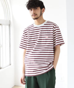 DANTON / Border Pocket Tee