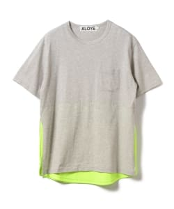 【アウトレット】ALOYE / Shirt Fabrick Layered Tee
