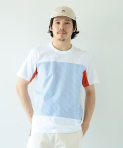 ALOYE / Shirt Fabric Short Sleeve Tee