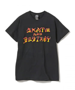 THRASHER / SKATE AND DESTROY BBQ Tシャツ