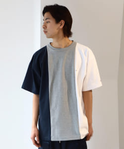【予約】Champion × BEAMS / 別注 3tone Reverse Weave(R) Tee