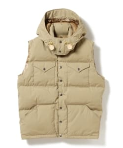 THE NORTH FACE PURPLE LABEL / 65/35 Hooded Sierra Vest