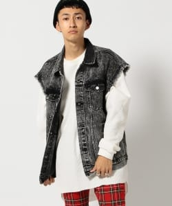 VAPORIZE / Cut Off Denim Vest