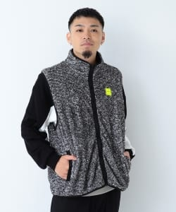 【予約】CHARI&CO × BEAMS T / 別注 Fleece Vest