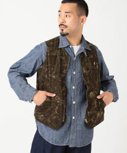POST OVERALLS / NORTHWEST BATIK VEST