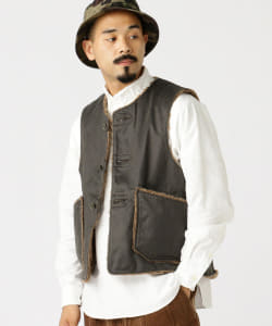 ENGINEERED GARMENTS / OVER VEST Coated Twill