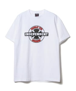 INDEPENDENT × BEAMS / 別注 95 BTG Ring Tee▲