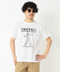 FUJI ROCK FESTIVAL'17 × BEAMS / NAIJEL GRAPH Tee