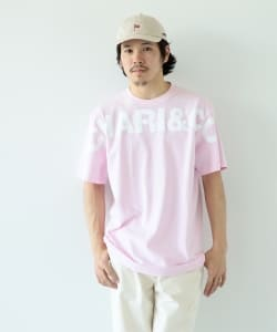 CHARI&CO × BEAMS T / 別注 Gm Logo Short Sleeve Tee