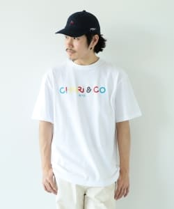 CHARI&CO × BEAMS T / 別注 Yoon Logo Tee