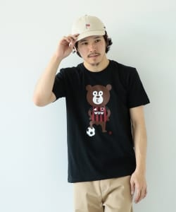 【Web限定】The Wonderful! design works. / Soccer Bear Tee