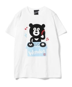 【SPECIAL PRICE】The Wonderful! design works. / DJ Bear Tee