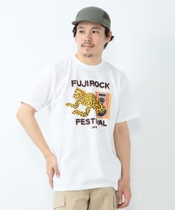 FUJI ROCK FESTIVAL'18 × BEAMS / Shuntaro Takeuchi パンサー Tシャツ