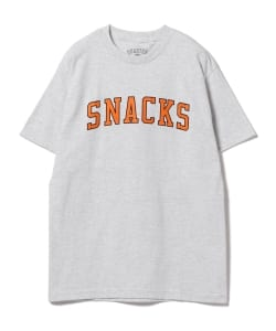 QUARTER SNACKS / Block Varsity T-shirt