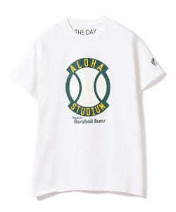 THE DAY × BEAMS PLUS / 別注 プリント Tシャツ 19SS