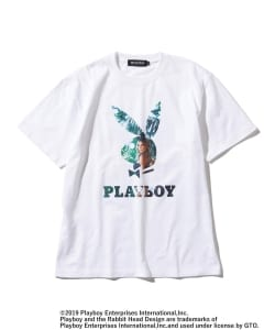 【予約】PLAYBOY × BEAMS T / 別注 RABBIT HEAD Photo T-shirt