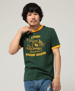 【予約】LEVI'S(R) × Stranger Things / CAMP KNOW WHERE RINGER TEE