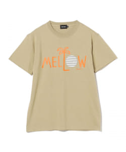 Palm Graphics / MELLOW プリント Tシャツ