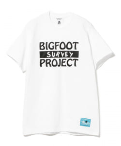 TACOMA FUJI RECORDS / BIGFOOT SURVEY TEE