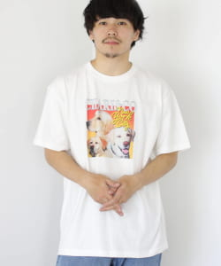 【予約】CHARI&CO × BEAMS T / 別注 THANKS GIVING DOG SHOW Tシャツ