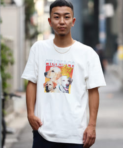 CHARI&CO × BEAMS T / 男裝 別注 THANKS GIVING DOG SHOW T恤