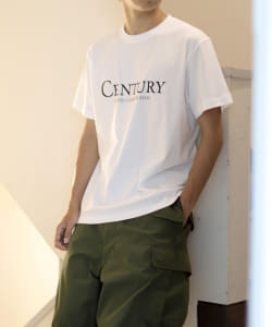 BEAMS / CENTURY LOGO Tシャツ