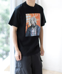 BEAMS / DOG Tシャツ