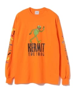 wiffle × BEAMS T / 別注 Kermit Long Sleeve Tee