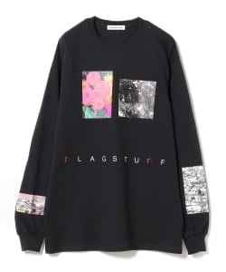 F-LAGSTUF-F / Flower Long Sleeve Tee