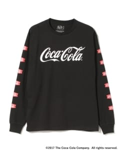Coca Cola by BEAMS / Logo Long Sleeve Tee