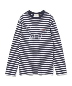KITSUNE / Marine Long Sleeve Tee