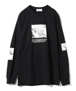 F-LAGSTUF-F x VIDEO GIRL / Long Sleeve Tee ①