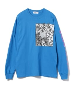 F-LAGSTUF-F x VIDEO GIRL / Long Sleeve Tee ②
