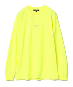 CHARI&CO × BEAMS T / 別注 Split Logo Long Sleeve Tee