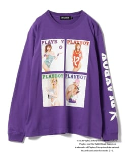 PLAYBOY × BEAMS T / 別注 Long sleeve T-shirt