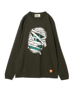 【タイムセール対象品】BLACK HUMOURS by Jody Barton / Black Skull Long Sleeve Tee