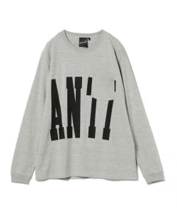 【SPECIAL PRICE】MAAT / Big Logo Pocket Long Sleeve Tee