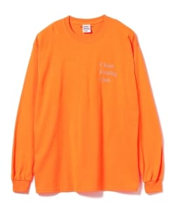 Chaos Fishing Club × BEAMS T / 別注 LOGO Long Sleeve Tee